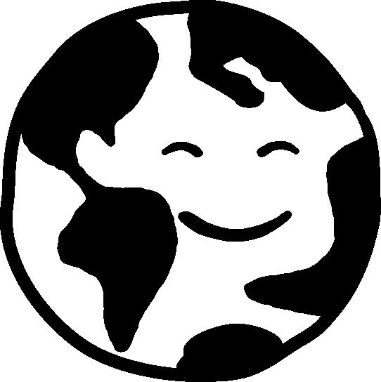 happy world logo