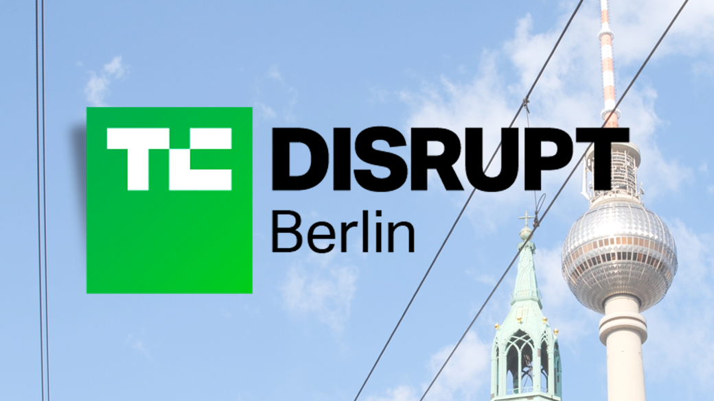 tc disrupt berlin banner