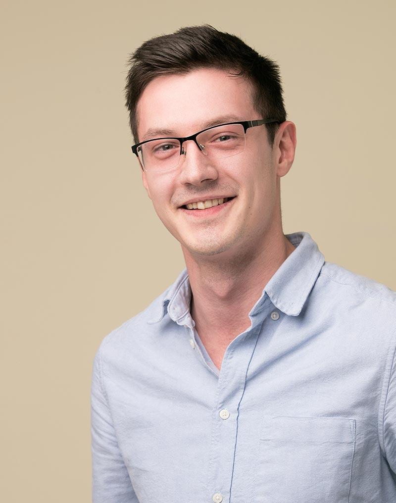 Portrait of Ondrej from the Talentful team